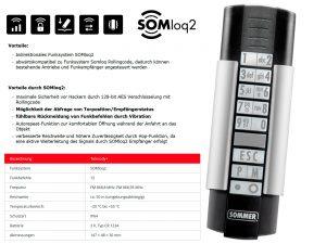 Sommer 12-Befehl Handsender Telecody+ S10212-00001 - Adams Tore & Antriebe - Sommer, Wisniowski, Hörmann Vertragshändler