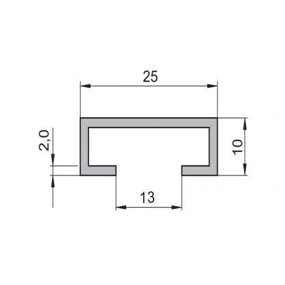 Sommer Aluminium C-Schiene 50650 - Adams Tore & Antriebe - Sommer, Wisniowski, Hörmann Vertragshändler