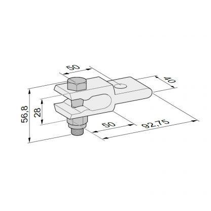 Sommer Torpfostenanbindung im Set 7634V000 - Adams Tore & Antriebe - Sommer, Wisniowski, Hörmann Vertragshändler