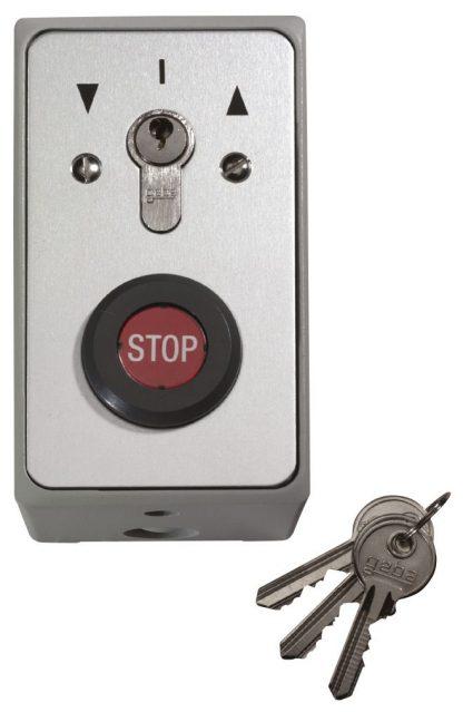 Sommer Schlüsseltaster im Metallgehäuse Aufputz 5122V000 - Adams Tore & Antriebe - Sommer, Wisniowski, Hörmann Vertragshändler