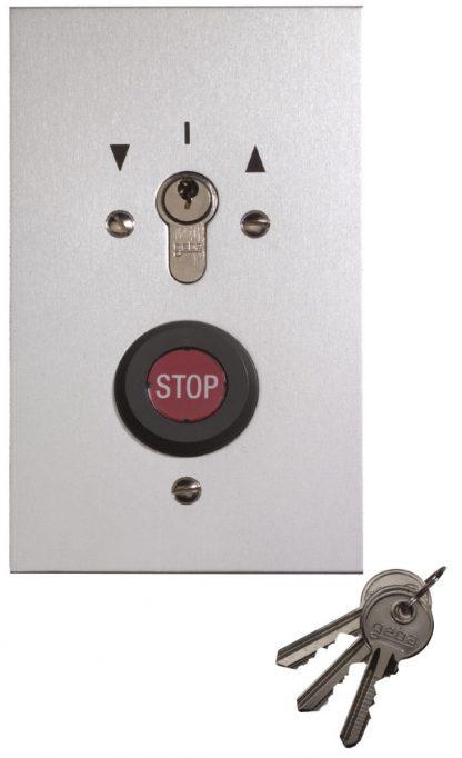 Sommer Schlüsseltaster im Metallgehäuse Unterputz 5121V000 - Adams Tore & Antriebe - Sommer, Wisniowski, Hörmann Vertragshändler