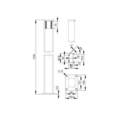 Sommer Schlüsseltastersäule 5031V000 - Adams Tore & Antriebe - Sommer, Wisniowski, Hörmann Vertragshändler
