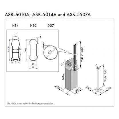Sommer ASB-6010A (rechts schließend) 7686V001 - Adams Tore & Antriebe - Sommer, Wisniowski, Hörmann Vertragshändler