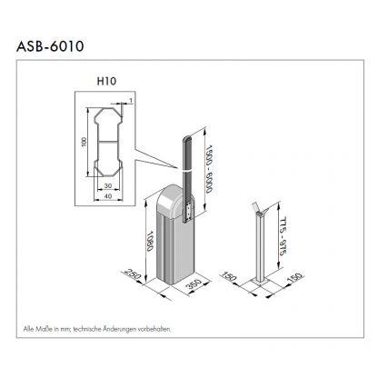 Sommer ASB-6010 (rechts schließend) 7684V001 - Adams Tore & Antriebe - Sommer, Wisniowski, Hörmann Vertragshändler