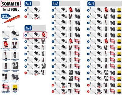 Sommer Twist 200el Drehtorantrieb 1-flüglig Set 3in1A - Adams Tore & Antriebe - Sommer, Wisniowski, Hörmann Vertragshändler