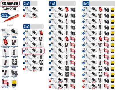 Sommer Twist 200el Drehtorantrieb 2-flüglig Set 3in1D - Adams Tore & Antriebe - Sommer, Wisniowski, Hörmann Vertragshändler