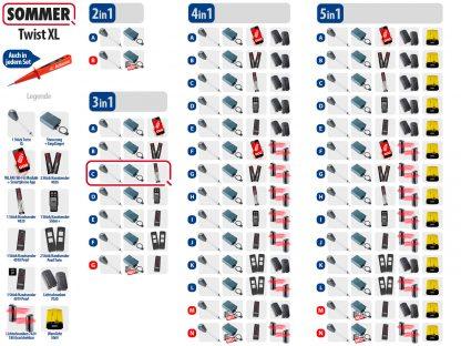 Sommer Twist XL Drehtorantrieb 1-flüglig Set 3in1C - Adams Tore & Antriebe - Sommer, Wisniowski, Hörmann Vertragshändler