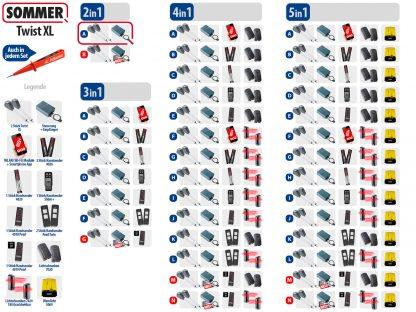 Sommer Twist XL Drehtorantrieb 2-flüglig Set 2in1A - Adams Tore & Antriebe - Sommer, Wisniowski, Hörmann Vertragshändler