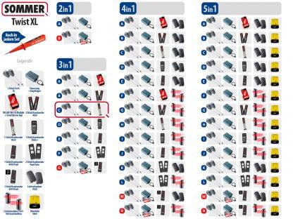 Sommer Twist XL Drehtorantrieb 2-flüglig Set 3in1C - Adams Tore & Antriebe - Sommer, Wisniowski, Hörmann Vertragshändler