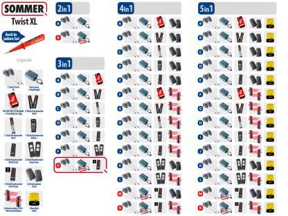 Sommer Twist XL Drehtorantrieb 2-flüglig Set 3in1G SOMloq2 - Adams Tore & Antriebe - Sommer, Wisniowski, Hörmann Vertragshändler