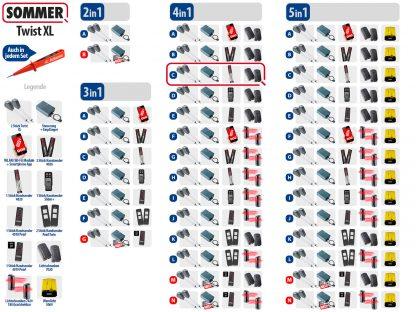 Sommer Twist XL Drehtorantrieb 2-flüglig Set 4in1C - Adams Tore & Antriebe - Sommer, Wisniowski, Hörmann Vertragshändler