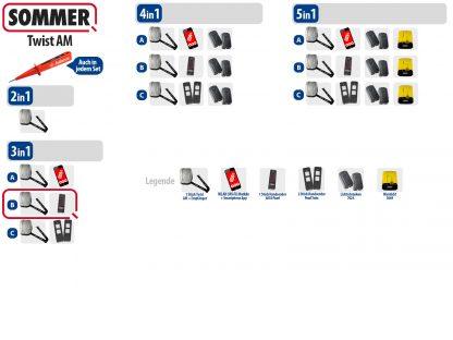 Sommer Twist AM Drehtorantrieb 1-flüglig Set 3in1B - Adams Tore & Antriebe - Sommer, Wisniowski, Hörmann Vertragshändler