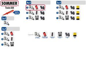 Sommer Twist AM Drehtorantrieb 1-flüglig Set 4in1A - Adams Tore & Antriebe - Sommer, Wisniowski, Hörmann Vertragshändler
