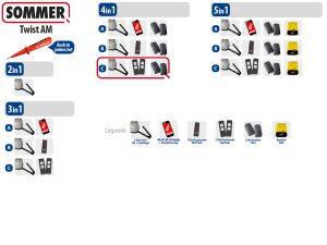 Sommer Twist AM Drehtorantrieb 1-flüglig Set 4in1C - Adams Tore & Antriebe - Sommer, Wisniowski, Hörmann Vertragshändler