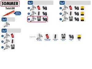 Sommer Twist AM Drehtorantrieb 2-flüglig Set 4in1C - Adams Tore & Antriebe - Sommer, Wisniowski, Hörmann Vertragshändler