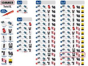 Sommer Twist XL Drehtorantrieb 2-flüglig Set 5in1L - Adams Tore & Antriebe - Sommer, Wisniowski, Hörmann Vertragshändler