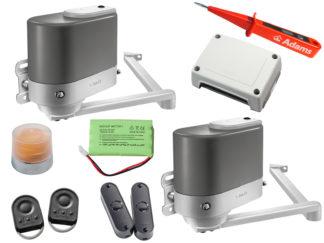 Somfy Axovia MultiPro 3S RTS Drehtorantrieb 2-flüglig Set Comfort Pack 1216497 - Adams Tore & Antriebe - Sommer, Wisniowski, Hörmann Vertragshändler