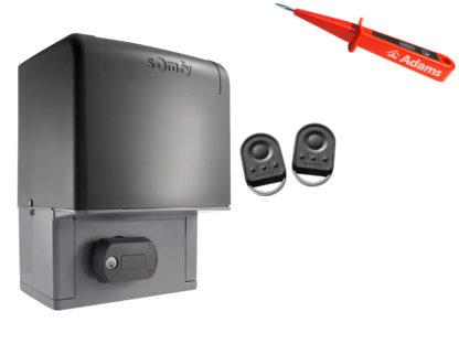 Somfy Elixo 2000 230V RTS Schiebetorantrieb Set Standard Pack 1216595 - Adams Tore & Antriebe - Sommer, Wisniowski, Hörmann Vertragshändler