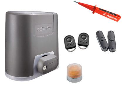 Somfy Elixo 500 230V RTS Schiebetorantrieb Set Standard Pack 1216453 - Adams Tore & Antriebe - Sommer, Wisniowski, Hörmann Vertragshändler