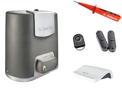 Somfy Elixo 500 3S io Schiebetorantrieb Set EE Connexoon Pack 1216508 - Adams Tore & Antriebe - Sommer, Wisniowski, Hörmann Vertragshändler