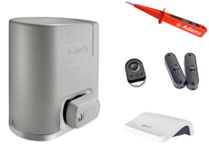 Somfy Elixo Smart io Schiebetorantrieb Set EE Connexoon Pack 1000057 - Adams Tore & Antriebe - Sommer, Wisniowski, Hörmann Vertragshändler