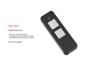 Sommer 2-Befehl Handsender Pearl Twin+ S11925-00001 - Adams Tore & Antriebe - Sommer, Wisniowski, Hörmann Vertragshändler