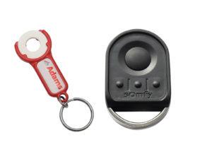 Somfy Keygo 4 io Handsender 868,95 MHz (1841134) - Adams Tore & Antriebe - Sommer, Wisniowski, Hörmann Vertragshändler