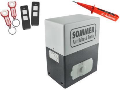 Sommer SM 40 T Schiebetorantrieb 600kg Set 3in1 - Adams Tore & Antriebe - Sommer, Wisniowski, Hörmann Vertragshändler