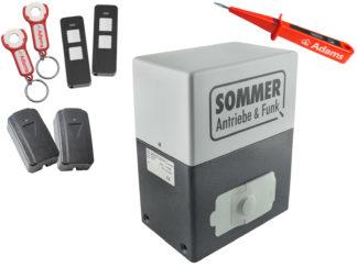 Sommer SM 40 T Schiebetorantrieb 600kg Set 4in1 - Adams Tore & Antriebe - Sommer, Wisniowski, Hörmann Vertragshändler