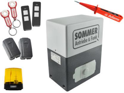 Sommer SM 40 T Schiebetorantrieb 600kg Set 5in1 - Adams Tore & Antriebe - Sommer, Wisniowski, Hörmann Vertragshändler