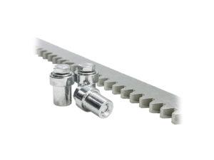 Zahnstange Stahl Modul4 M4 8mm Schiebetor Antrieb - Adams Tore & Antriebe - Sommer, Wisniowski, Hörmann Vertragshändler